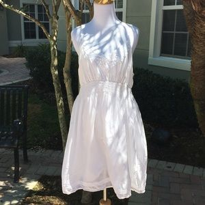 White lace Sz. XL (12) St. Barth for Target Dress